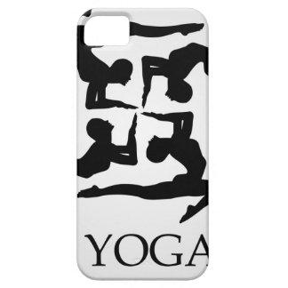 ilustraciones para la yoga iPhone 5 funda