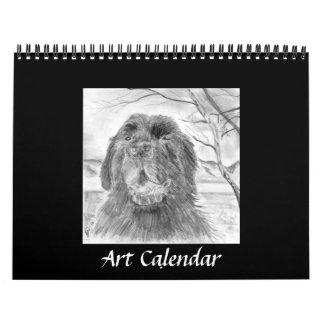 Ilustraciones por G Wachtel Calendario De Pared