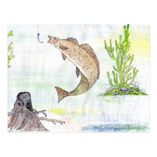 Ilustraciones que ganan de A Tahira grado 10 Tarjeta Postal