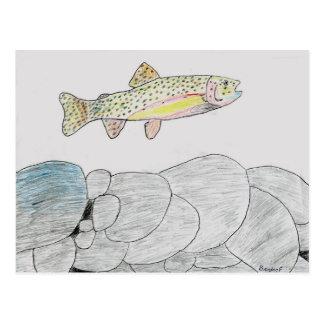 Ilustraciones que ganan de B Frye grado 6 Tarjeta Postal