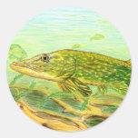 Ilustraciones que ganan de R. Hinkens, grado 5 Pegatina Redonda