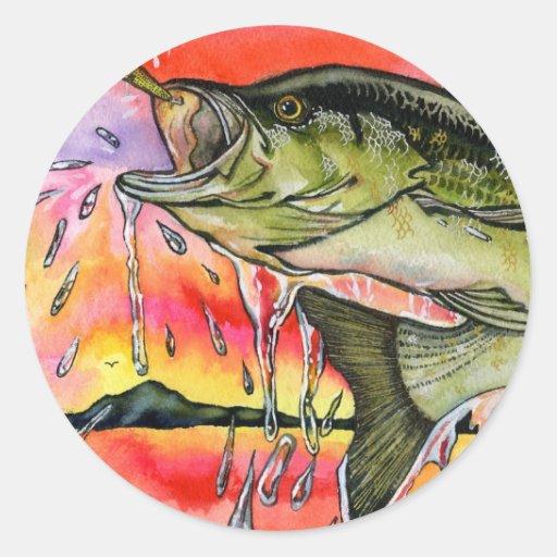 Ilustraciones que ganan por S. Tu, grado 9 Pegatina Redonda