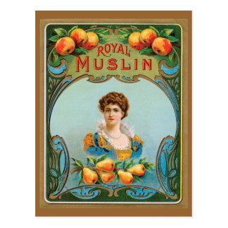 Ilustraciones reales de la muselina del Victorian Postal