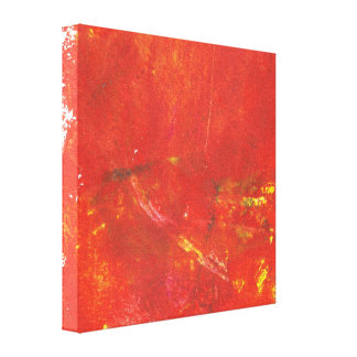 Ilustraciones rojas del extracto del Grunge Lona Estirada Galerías