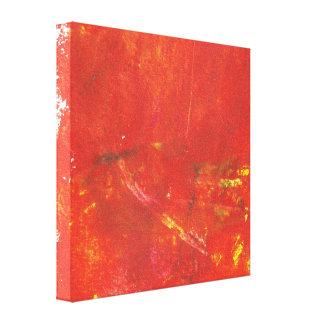 Ilustraciones rojas del extracto del Grunge Lona Envuelta Para Galerias