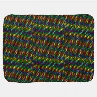 Ilustraciones rojas del extracto del mosaico del v manta de bebé