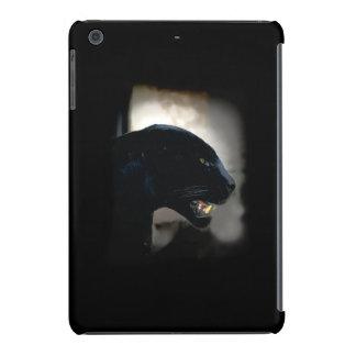 Ilustraciones salvajes del gato de la pantera funda de iPad mini