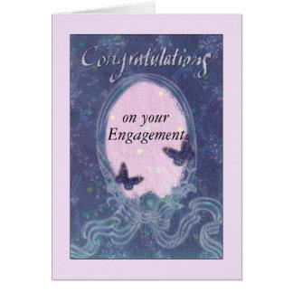 ilustraciones soñadoras exquisitas de los congrats tarjeta de felicitación