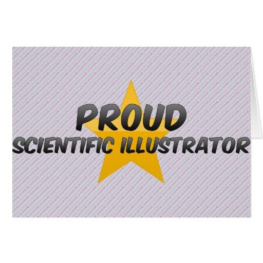 Ilustrador científico orgulloso felicitacion