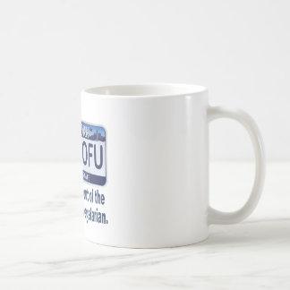 ILVTOFU New York License Plate Classic White Coffee Mug