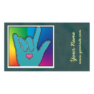 ILY Color Harmony I Business Card