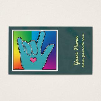 ILY Color Harmony I Business Card