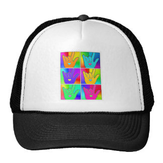 ILY (I LOVE YOU) Times Six Trucker Hat