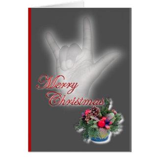 ILY - Merry Christmas Card