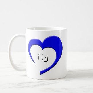 ILY Mug (blue)