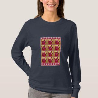 ILY Multi Hearts & Hands T-Shirt
