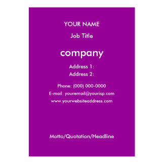 ILY Times Four Profile Card Business Card Template