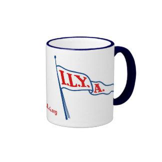 ILYA Burgee ringer mug