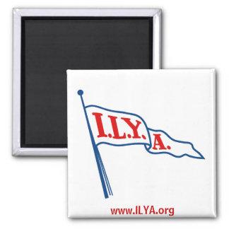 ILYA Burgee Square Magnet