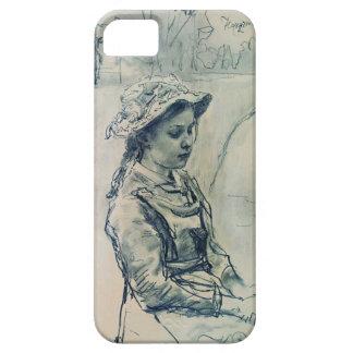 Ilya Repin- Ada girl iPhone 5 Covers