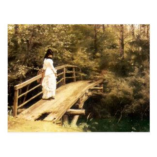 Ilya Repin- Bridge in Abramtsevo Postcard