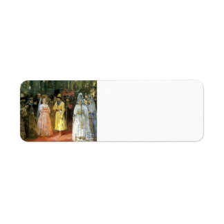 Ilya Repin- Choosing a Bride for a Grand Duke Return Address Label