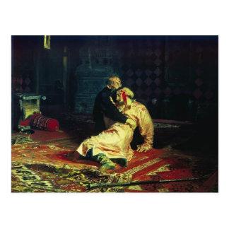 Ilya Repin- Ivan el terrible y su hijo Ivan Postal