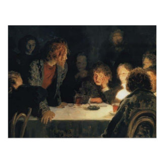 Ilya Repin- la reunión revolucionaria Postal
