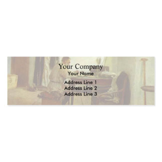Ilya Repin- Leo Tolstoy in His Study Business Card Template