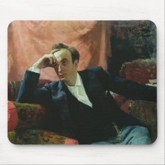 Ilya Repin- Portrait of actor and dramatist Mousepad