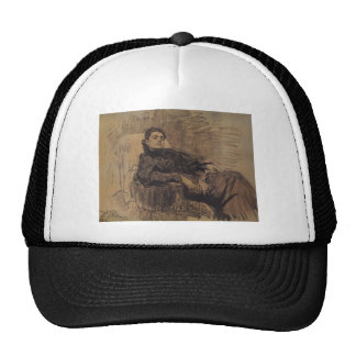 Ilya Repin: Portrait of actress Eleonora Duse Trucker Hat