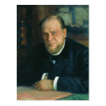 Ilya Repin- Portrait of Anatoly Fyodorovichm Koni Postcard