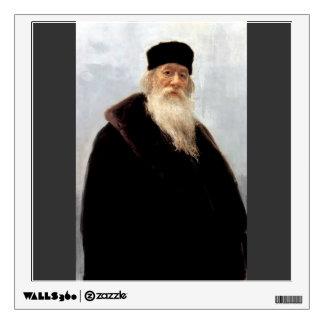 Ilya Repin- Portrait of Art Critic Vladimir Stasov Room Graphics
