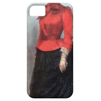 Ilya Repin- Portrait of Baroness Varvara Ikskul iPhone 5 Covers