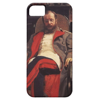 Ilya Repin- Portrait of Composer Cesar Cui iPhone 5 Case