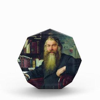 Ilya Repin-Portrait of historian & archaeologist Acrylic Award