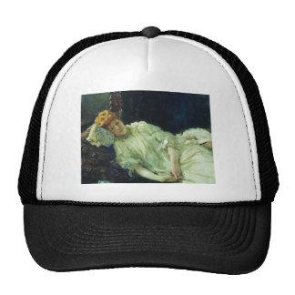Ilya Repin- Portrait of Luiza Mersi D'arzhanto Trucker Hat