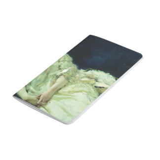 Ilya Repin- Portrait of Luiza Mersi D'arzhanto Journal