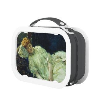 Ilya Repin- Portrait of Luiza Mersi D'arzhanto Yubo Lunch Box