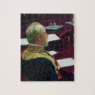 Ilya Repin- Portrait of member of State Council Jigsaw Puzzles