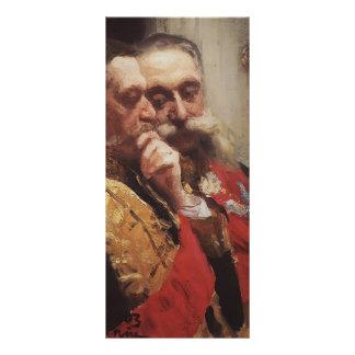 Ilya Repin- Portrait of members of State Council Custom Rack Card
