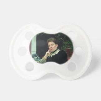 Ilya Repin-Portrait of philanthropist Olga Baby Pacifiers