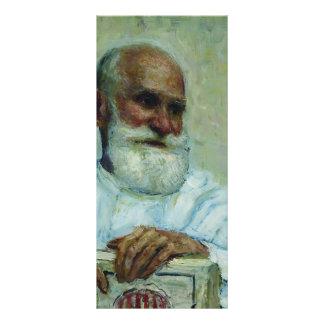 Ilya Repin-Portrait of physiologist Ivan Pavlov Rack Card