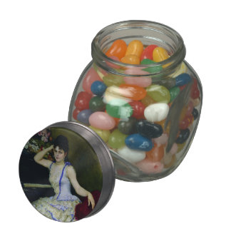 Ilya Repin- Portrait of pianist and professor Glass Candy Jars