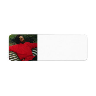Ilya Repin- Portrait of the Author Leonid Andreev Return Address Labels