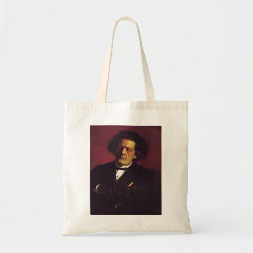 Ilya Repin-Portrait of the pianist Tote Bags