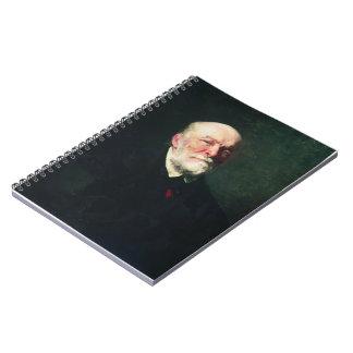 Ilya Repin-Portrait of the Surgeon Nikolay Pirogov Spiral Note Books