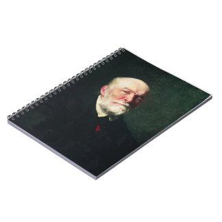 Ilya Repin-Portrait of the Surgeon Nikolay Pirogov Notebooks