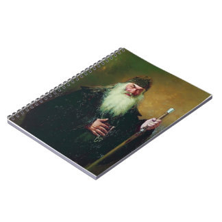 Ilya Repin-Portrait of the Surgeon Nikolay Pirogov Note Book