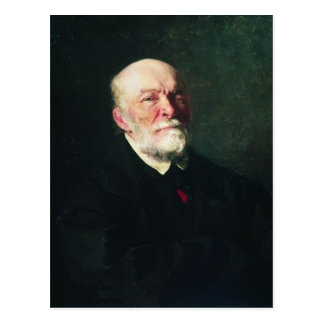 Ilya Repin-Portrait of the Surgeon Nikolay Pirogov Postcard